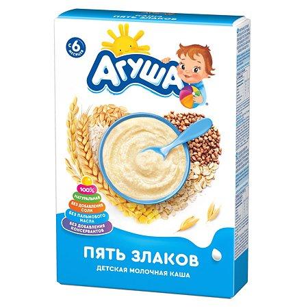 Каша молочная Агуша 5злаков 200г
