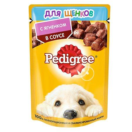 Корм для щенков Pedigree с ягненком пауч 85г