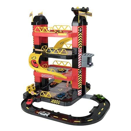 Набор игровой HTI (Teamsterz) Гараж-башня 4уровня с 10машинками 1416476.00