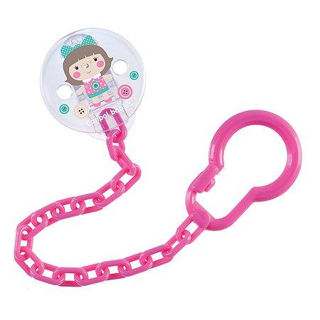 Клипса для пустышек Canpol Babies Toys Розовый