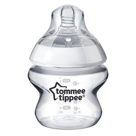 Бутылочки Tommee tippee с антиколиковым клапаном медленный поток 2 шт 150 мл