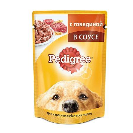 Корм для собак Pedigree с говядиной пауч 100г