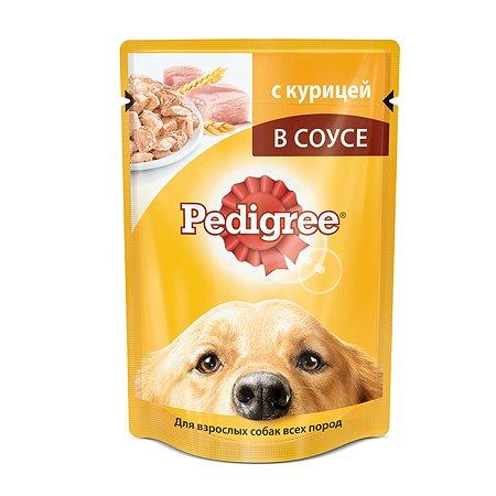 Корм для собак Pedigree с курицей пауч 100г