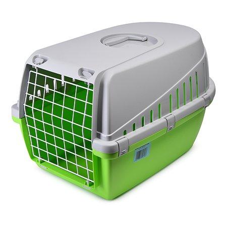 Переноска для животных Savic Trotter-2 Зеленый-Лимон-Серый