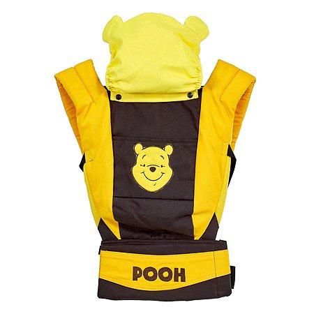 Рюкзак-кенгуру Polini kids Disney baby Медвежонок Винни и его друзья с вышивкой Шоколад