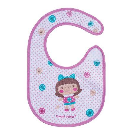 Нагрудник Canpol Babies Toys Розовый