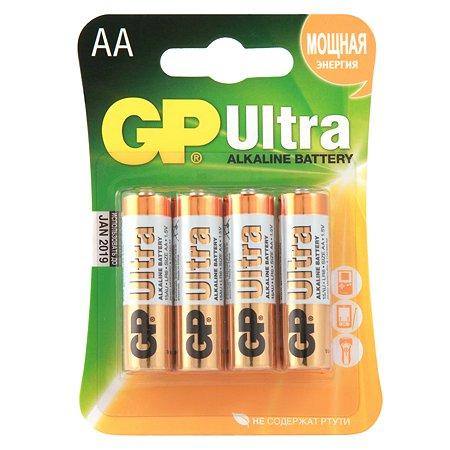 Батарейки GP Ultra AA 4шт GP 15AU-U4 Ultra 40/320