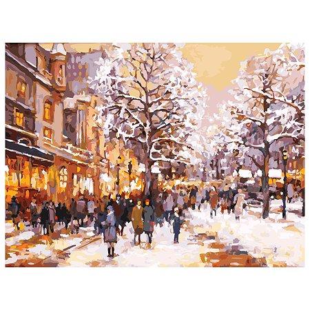 Набор для рисования Белоснежка Зимний вечер на бульваре 226-AS