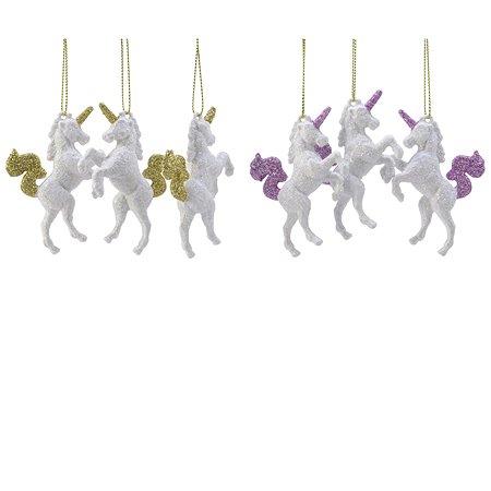 Елочное украшение Decoris Единорог в ассортименте 515976