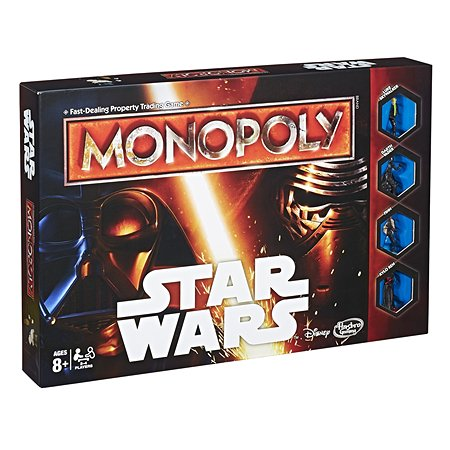 Монополия Hasbro Games Star Wars