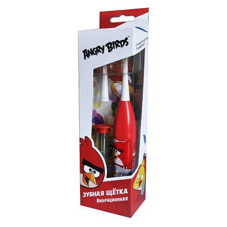 Зубная щетка LONGA VITA for kids Angry Birds электрическая вибрационная