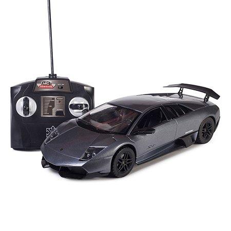 Машинка р/у Mobicaro Lamborghini LP670 (серая) 1:14 34 см