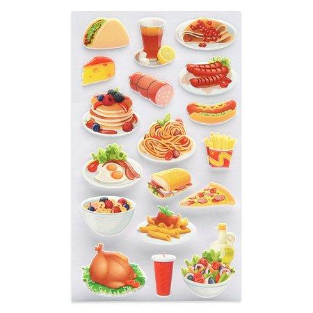 Наклейка декоративная зефирная Липляндия Еда