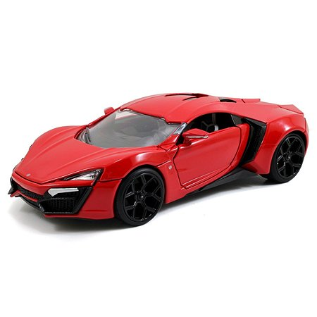 Машинка Fast and Furious Форсаж 1:24 Lykan Hypersport