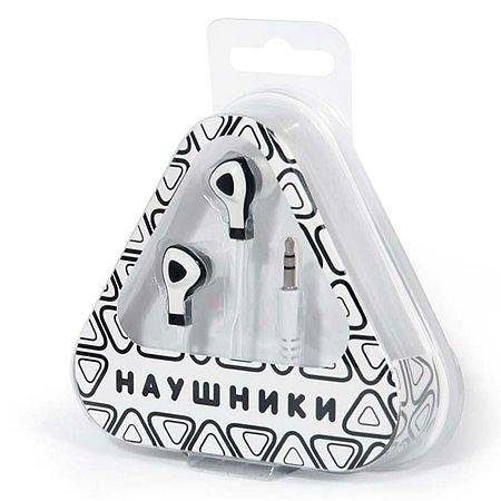 Наушники Mobile Треугольники (белые)