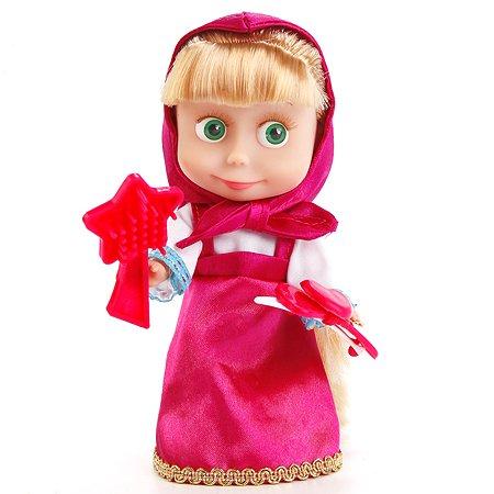 Кукла Карапуз Маша с аксессуарами 15 см