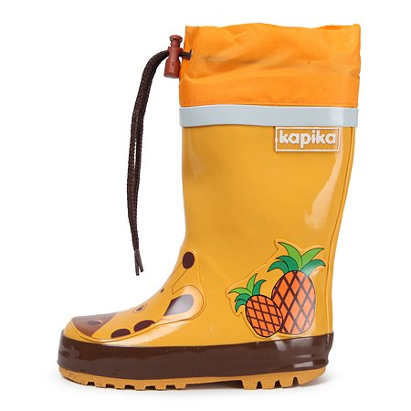 Резиновые сапоги Kapika жёлтые