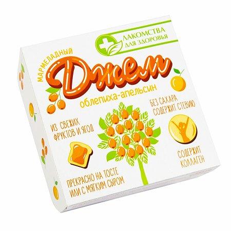 Джем Лакомства для здоровья мармеладный облепиха-апельсин 130г