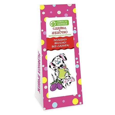 Мармелад Лакомства для здоровья желейный сливка-яблочко 105г