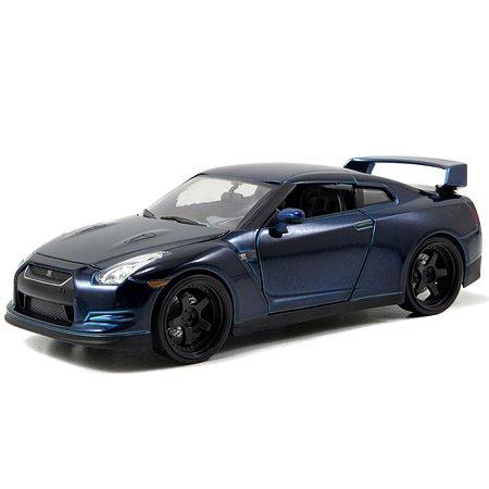 Машинка Fast and Furious Jada Форсаж 1:24- 2009 Nissan GT-R