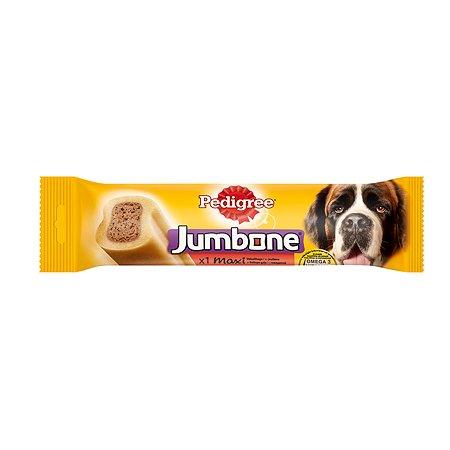 Лакомство для собак Pedigree jumbone с говядиной 180г