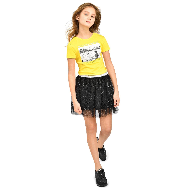 ebe4bf098b6 Юбка Futurino Fashion чёрная - купить в интернет магазине Детский ...