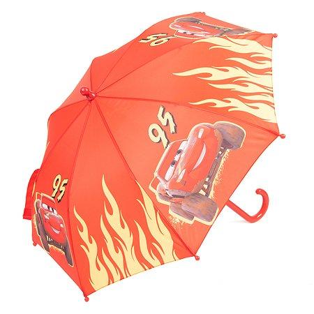 Зонт детский Cars красный