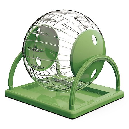 Игрушка для грызунов Lilli Pet Hamster fun большой Зеленый 20-9011