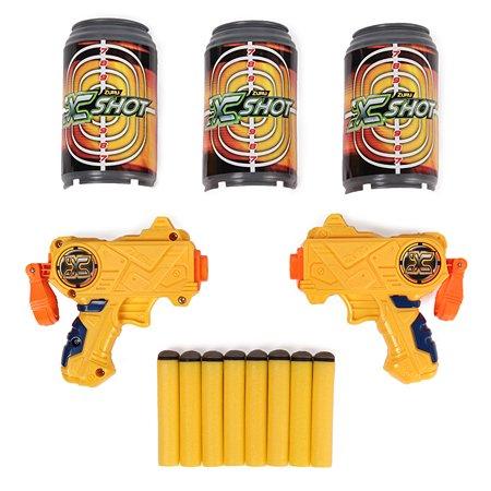 Набор для стрельбы X-SHOT Двойной микро