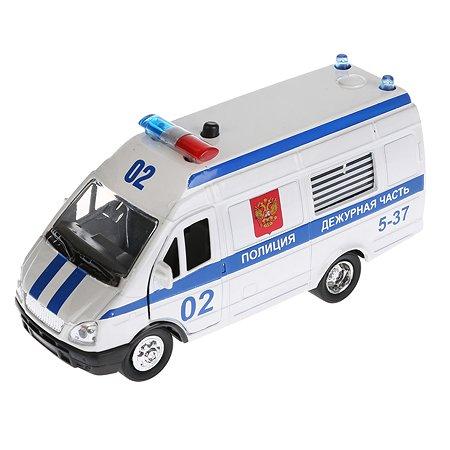 Машина Технопарк Газель Полиция инерционная 144740