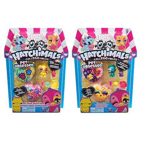 Набор фигурок Hatchimals S7 4шт в непрозрачной упаковке (Cюрприз) 6054182