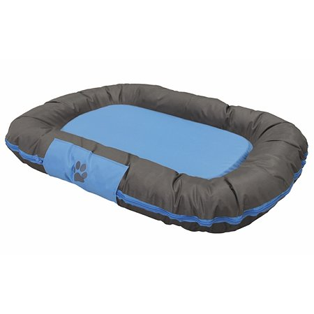 Лежак для животных Nobby Reno большой Серо-голубой 113х83х12 см