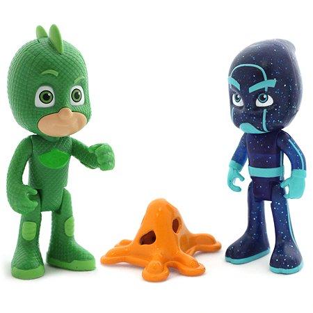 Игровой набор PJ masks Гекко (со световыми эффектами) и Ночной Ниндзя