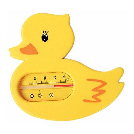 Термометр Курносики для ванной Уточка
