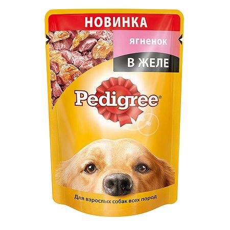 Корм для собак Pedigree желе с ягненком пауч 100г