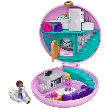 Набор игровой POLLY POCKET компактный Пижамная вечеринка GDK82