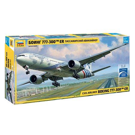 Пассажирский авиалайнер Звезда Боинг 777-300