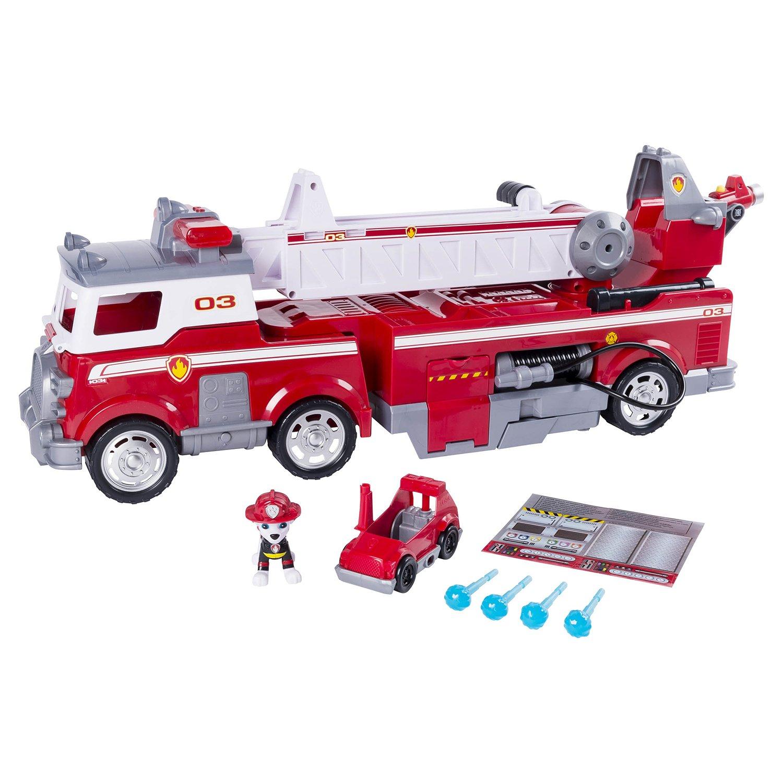Щенячий патруль маршал с пожарной машиной