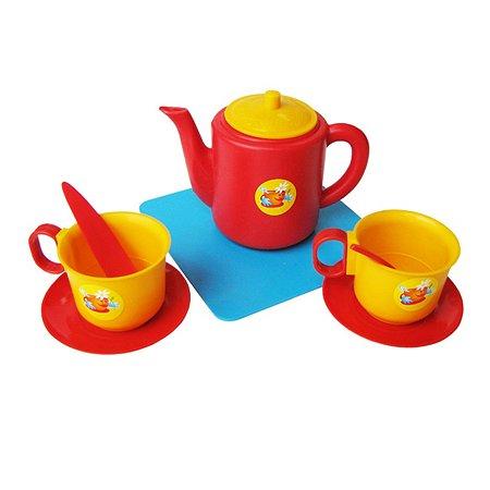 Набор посуды Пластмастер чашки с чайником