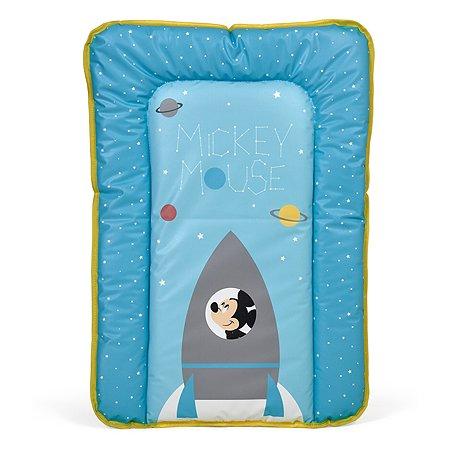 Доска пеленальная Polini kids Disney baby Микки Маус мягкая Голубой