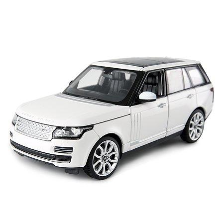 Машинка Rastar Range Rover 1:24 белая