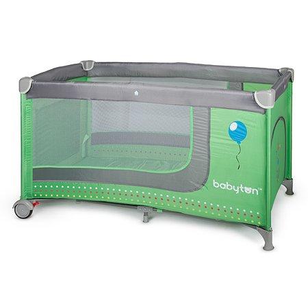Кровать-манеж Babyton цв. Green