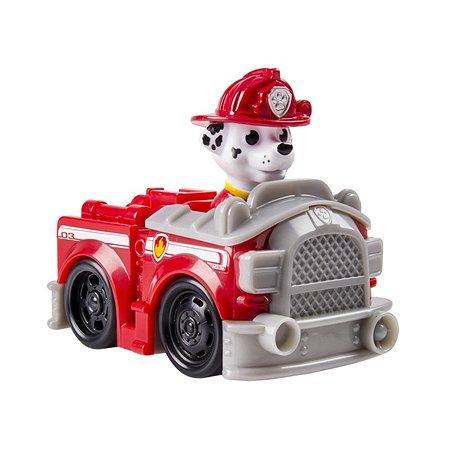 Машинка спасателя Щенячий патруль с щенком в ассортименте