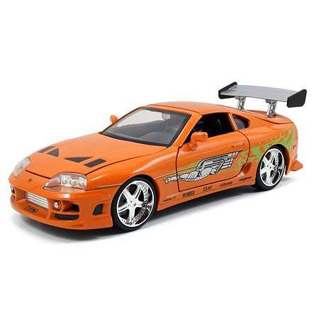 Машинка Fast and Furious Форсаж 1:24 1995 Toyota Supra