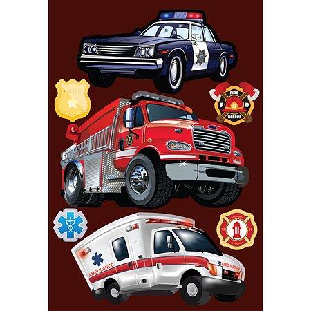Интерьерный стикер Decoretto Важные машины