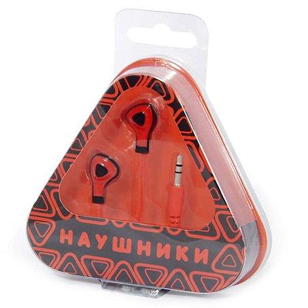 Наушники Mobile Треугольники (красные)