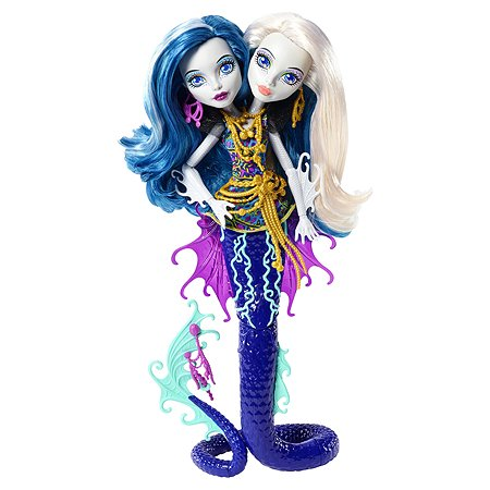 Кукла Monster High серии Большой Кошмарный Риф Пери и Перл