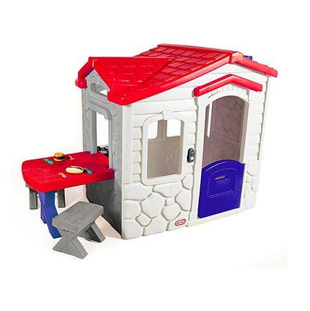 Игровой домик Little Tikes Пикник бело-красный