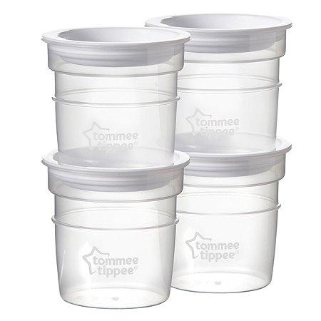 Контейнеры Tommee tippee для молока 4 шт 60 мл