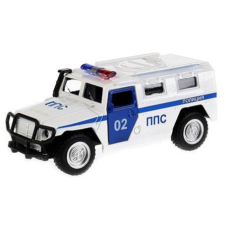 Машина Технопарк Газ Тигр Полиция инерционная 187231